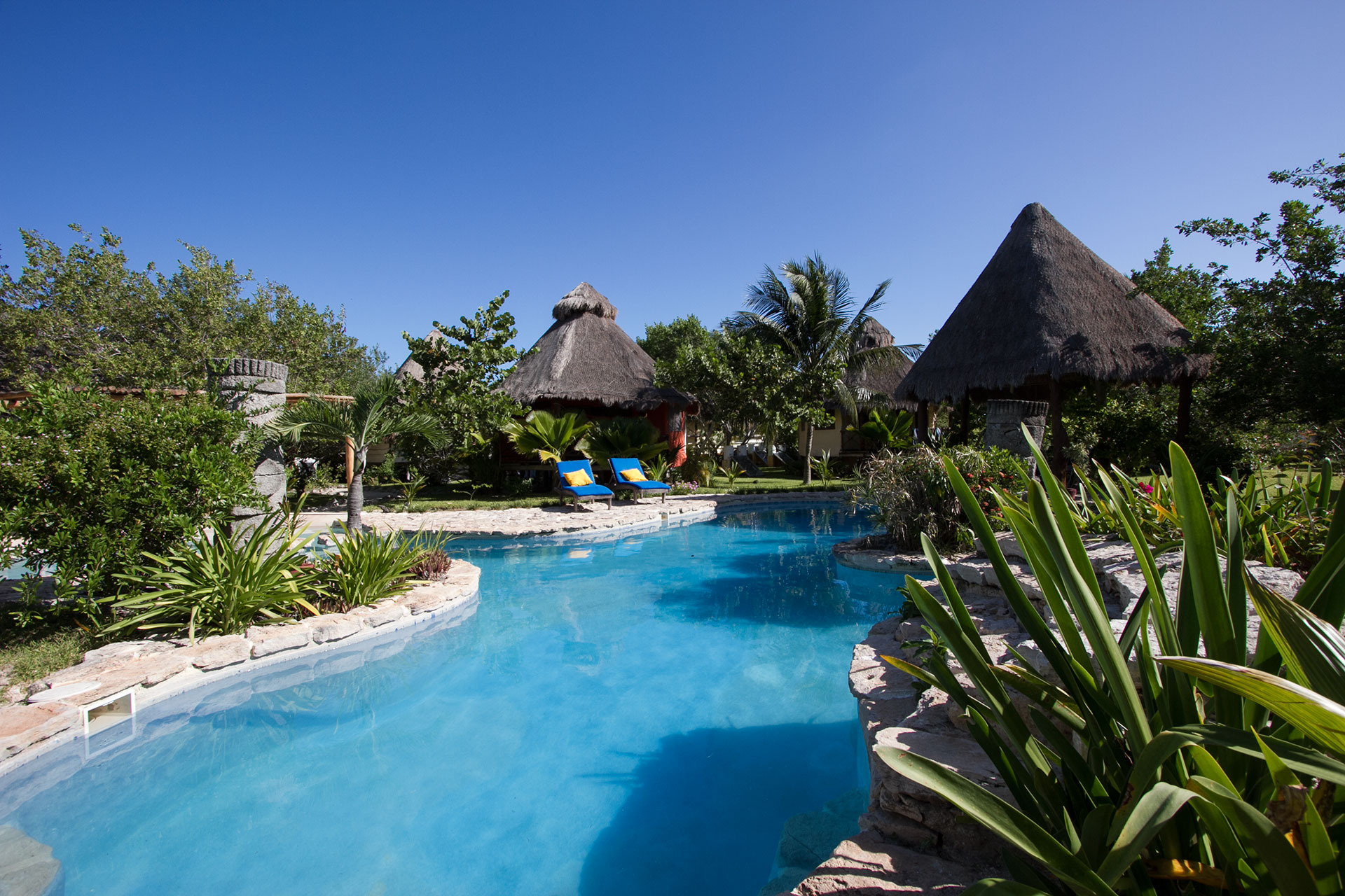Villas Delfines, Holbox island, the pool