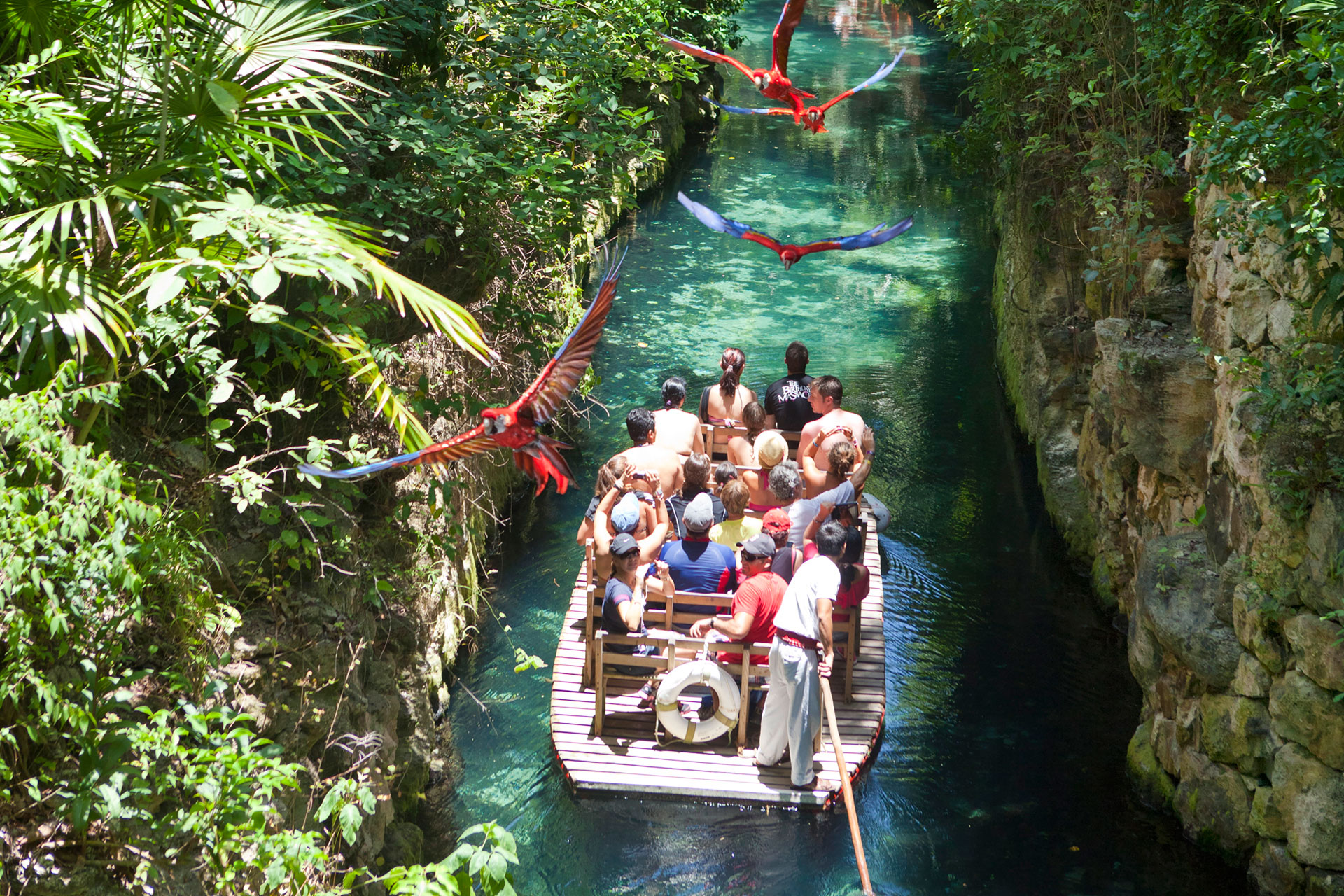 Xcaret park, Riviera Maya
