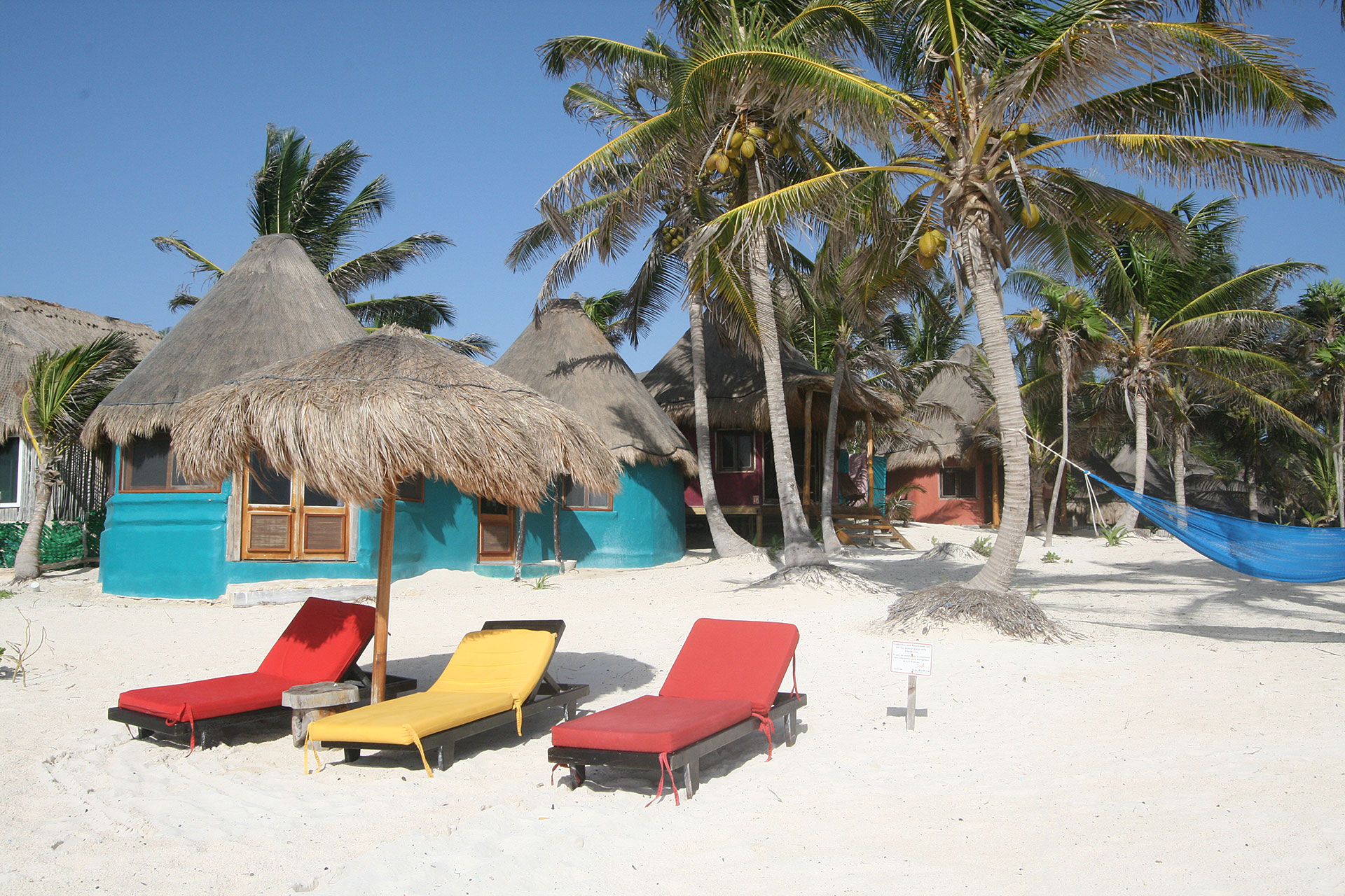 la Zebra Tulum, the beach